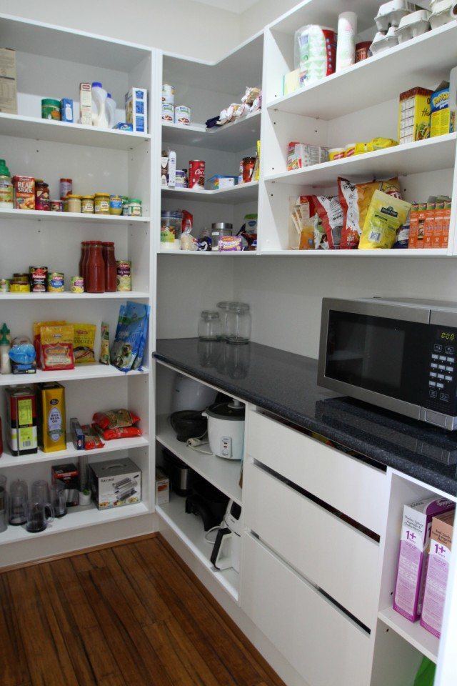 Pantry designs for today 39 s kitchen matthews joinery for Butlers kitchen designs