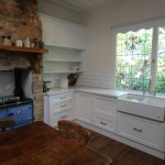 white kitchen country shaker door