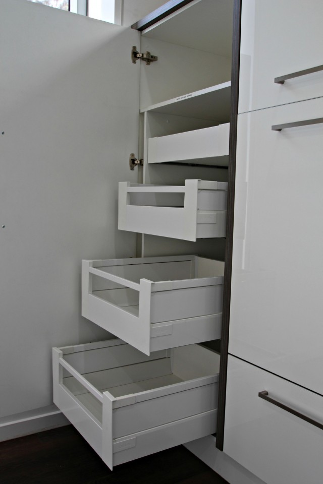Pantry designs for today 39 s kitchen matthews joinery Drawers in kitchen design