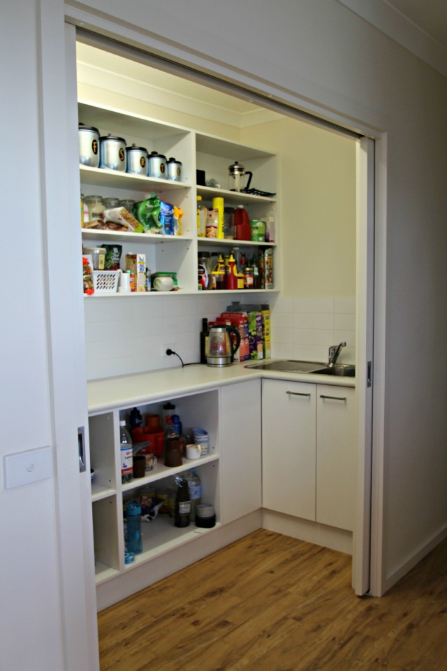 Pantry designs for today 39 s kitchen matthews joinery for Sliding pantry doors