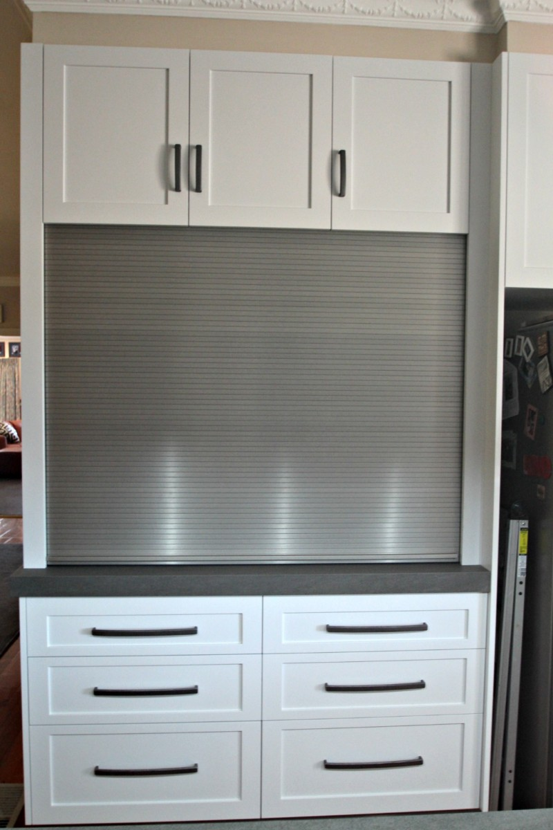 Custom cabinetry ballarat cabinet makers cupboards for Stainless steel kitchen cabinet doors