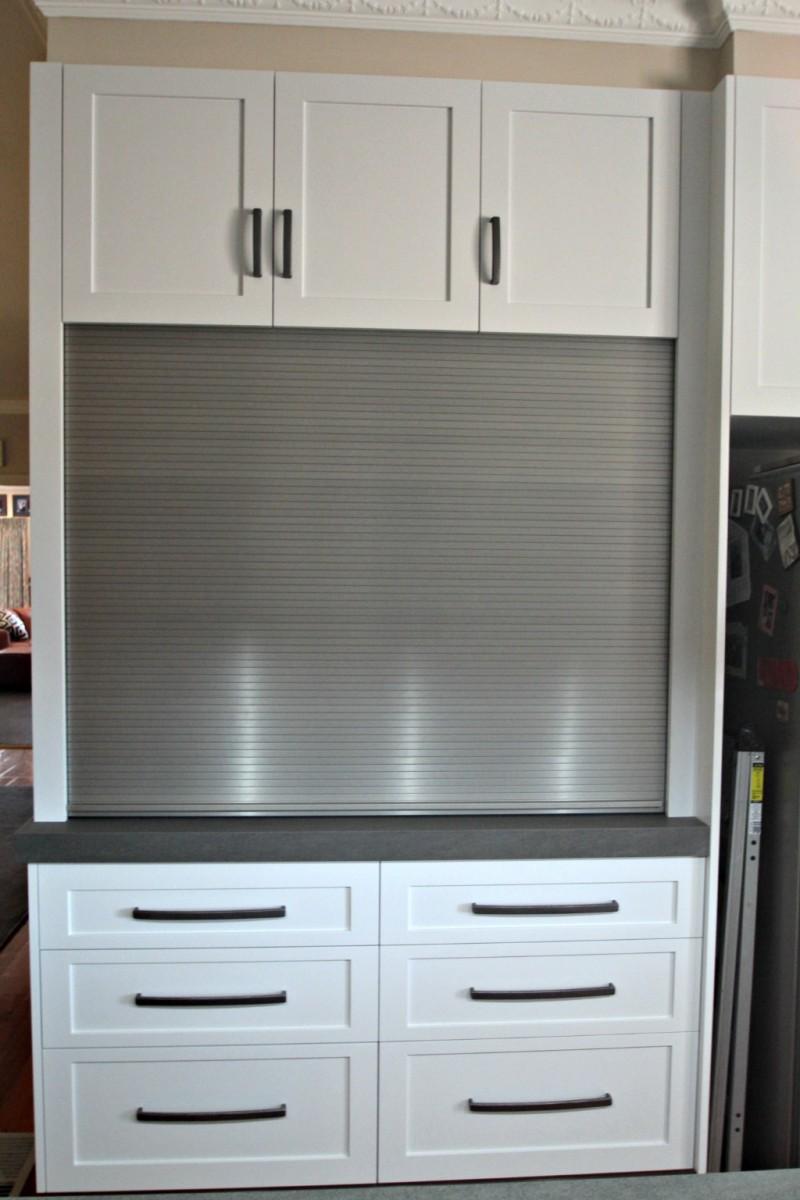 Custom cabinetry ballarat cabinet makers cupboards for Stainless steel cabinet door